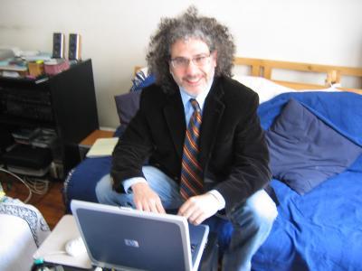 Entrevista -fragmento- a Nacho Fernández en blog Escritores