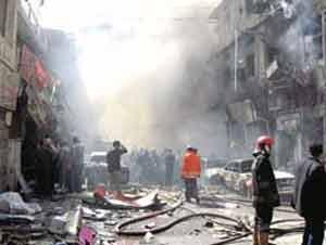 """""""Las calle de los libreros en Bagdad sufre un atentado"""" por Nacho Fernández"""